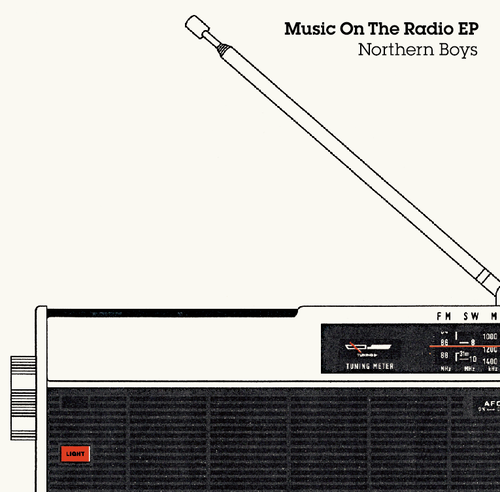 【FC限定!特典付】Northern Boys 1stミニアルバム『Music On the Radio EP』