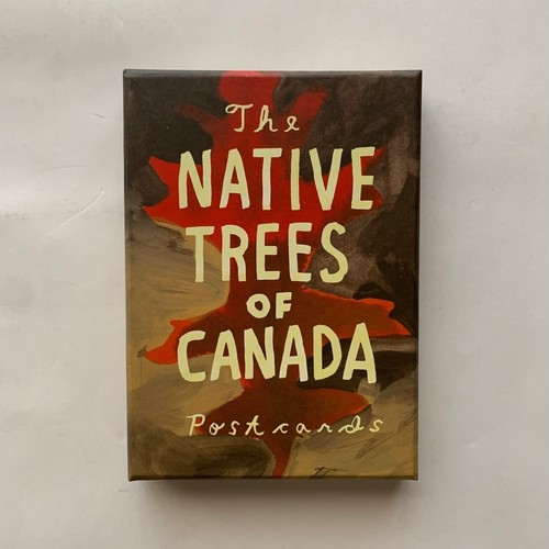Native Trees of Canada  /  A Postcard Set  /  Postcard Set with 30 Postcards  /  Leanne Shapton