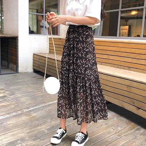 flower mermaidline skirt