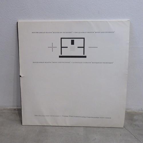 Quadrat-Print: MUSIEK EN TECHNIEK