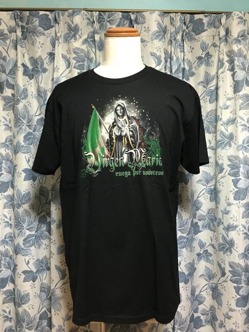 メキシコ国旗マリアTシャツ