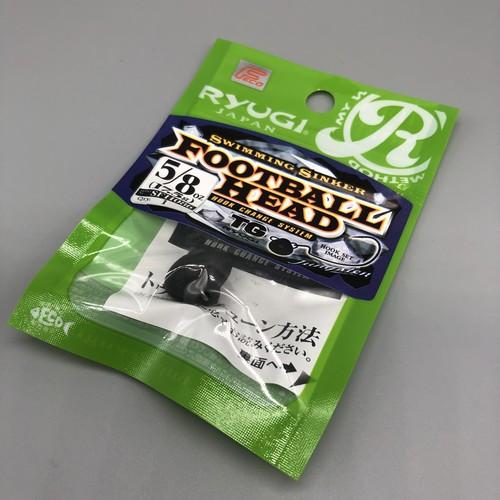 RYUGI / フットボールヘッド TG 【 5/8oz (17.5g) 】