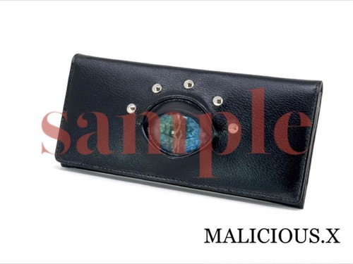 【ご予約オーダー品】reptelis(A) eye wallet / deep blue
