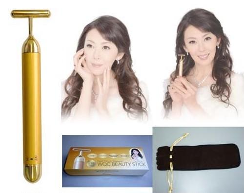 24金電動美顔器 BEAUTY STICK/見よ! 24金の力!