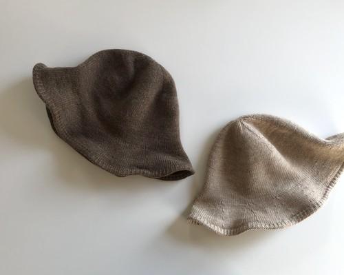 knit wave hat