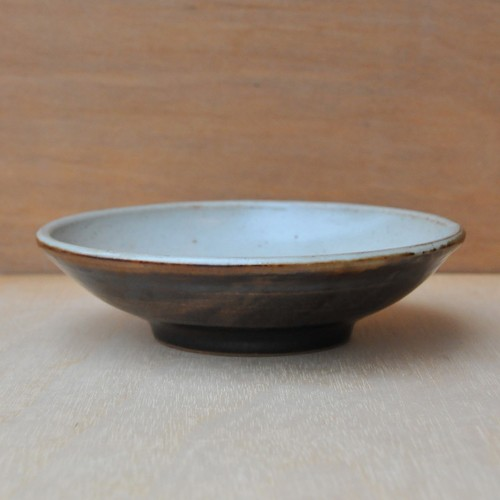 笠原良子 地釉 鉢(6寸)