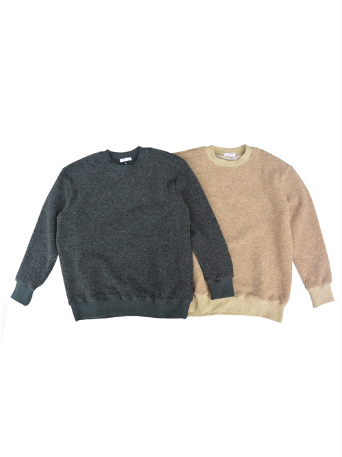 Commencement(コメンスメント)Wool pile L/S Tee