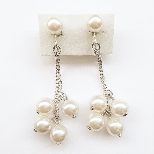 """SARAH COV"" Pearl Showers earring[e-499]"