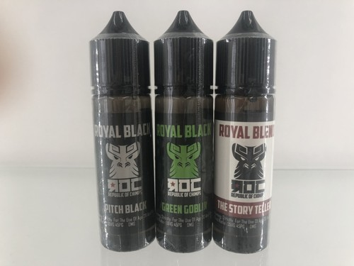 ROC Republic Of Chimps Pitch Black,Green Goblin,Story Teller