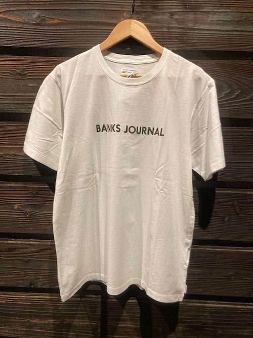 Banks Journal LABEL PRIMARY White Mサイズ ATS0575