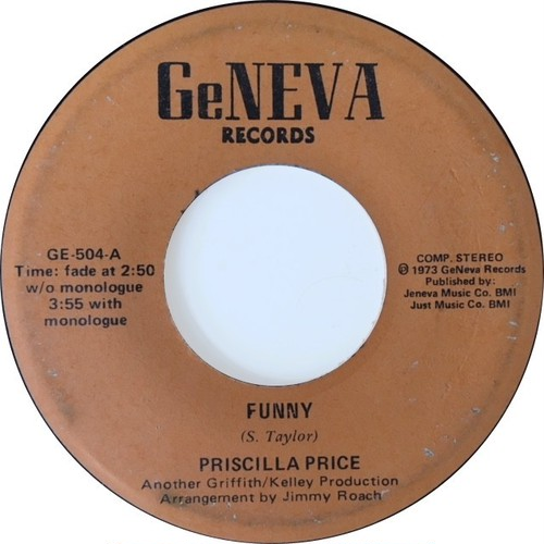 Priscilla Price – Funny / Only Yesterday