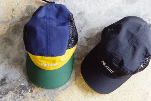 NOTHIN' SPECIAL SIDE MESH NYLON 5PANEL CAP