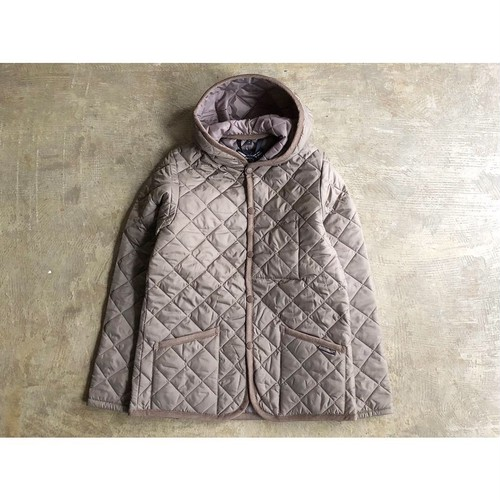 LAVENHAM (ラベンハム) 『CRAYDON』Hooded  Quilting Jacket