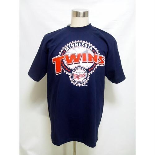 ミネソタ ツインズ Tシャツ MINNESOTA TWINS 半袖 MLB 大きいサイズ xxl 2xl B系 ストリート系 TEE T-SHIRTS メジャーリーグ ベースボール 282