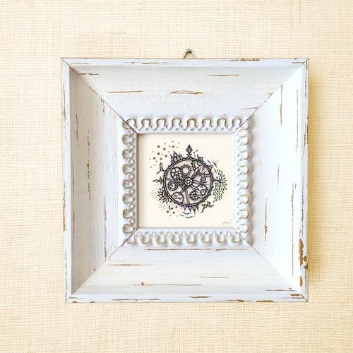 ミニ額縁 原画 【 'そのとき'に寄り添い、いまを知る。  】medium size  frame ver.