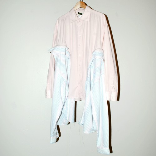 『Maldoror』combination shirt dress