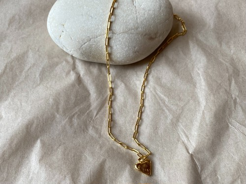 【ANNACID】LOVER necklace/gold