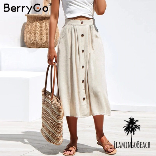 【FlamingoBeach】summer skirt スカート