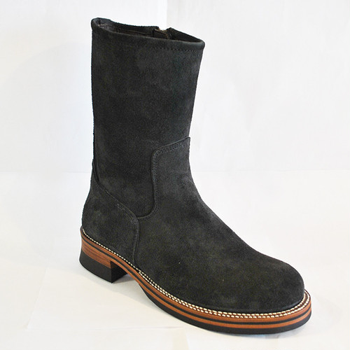 【High Line】ZIP ENGINEER BOOTS HORWEEN CALICO SUEDE GR-KE318CS CHARCOAL