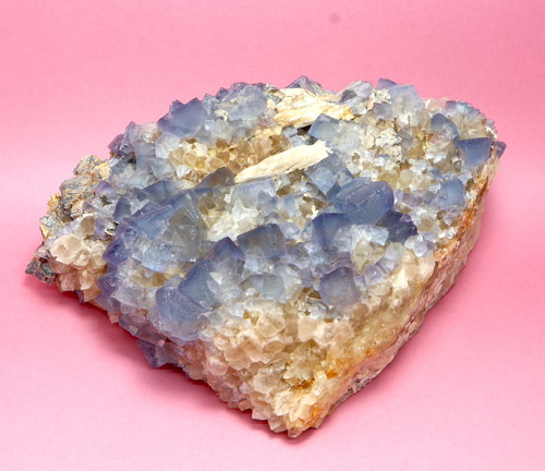 大きめ!蛍石 ニューメキシコ アメリカ産 フローライト 原石 515,8g FL134 鉱物 天然石 パワーストーン