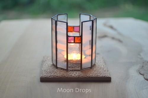 Moon Drops キャンドルスタンド 002(タイルが付属します)