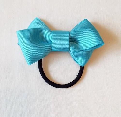 Double ribbon *ターコイズ