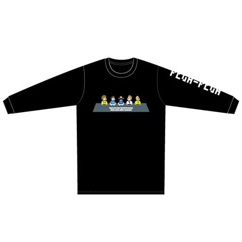 """PEGA-PEGA ロングスリーブ Tシャツ """" livremente"""" GREY"""