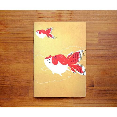 筆記本 ノート 金魚猫