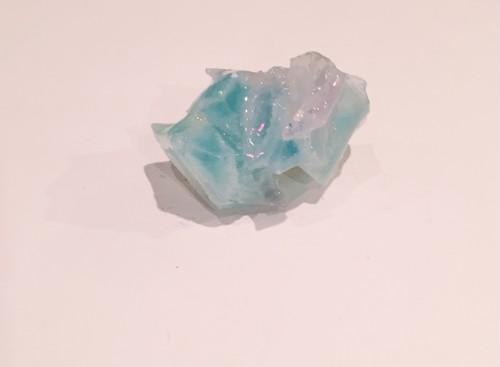 """cukr - """"琥珀のブローチ"""" - blue & pink & green(A)"""
