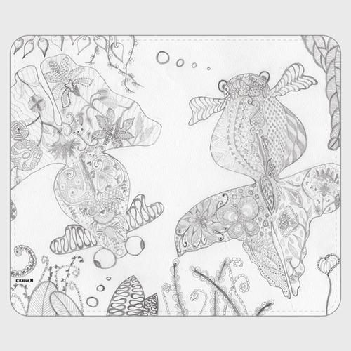 手帳型(帯なし)サイズ(M):kazue.M_011(金魚)