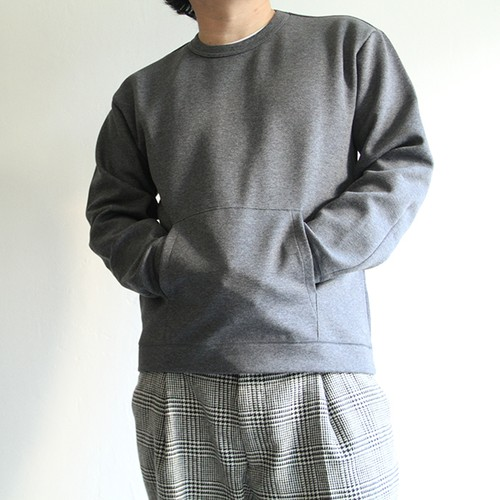 STILL BY HAND  【 mens 】pocket sweat