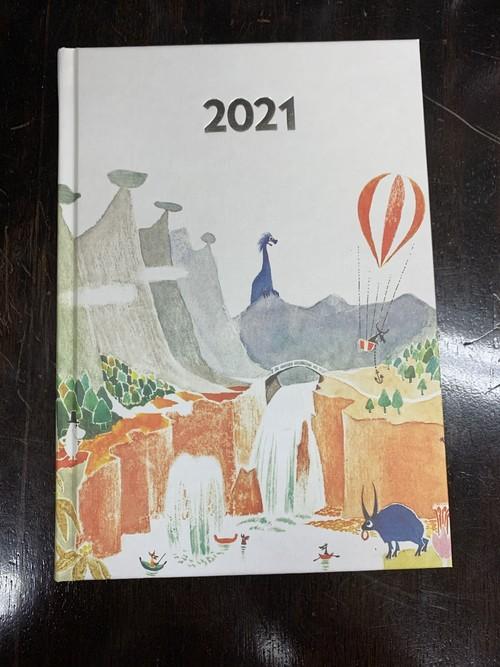 プティンキ社製 ハードカバー手帳(2021年)