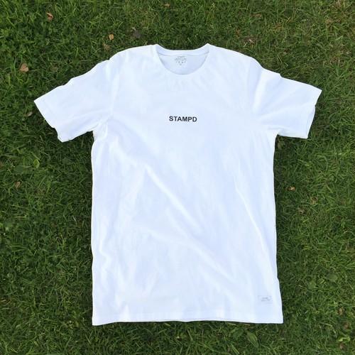 """""""STAMPD LA"""" White T Shirts"""
