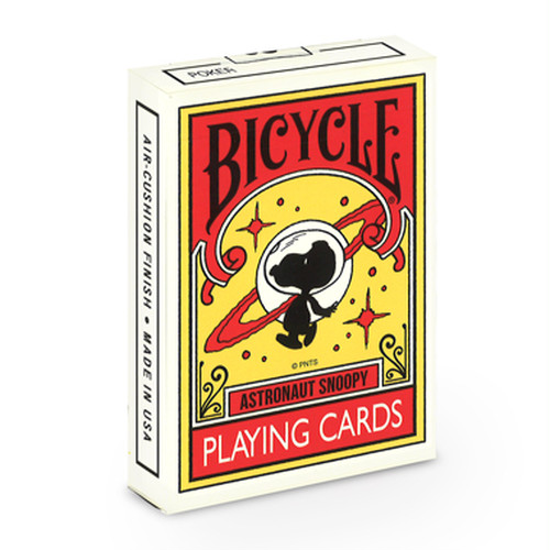 BICYCLE ASTRONAUT SNOOPY