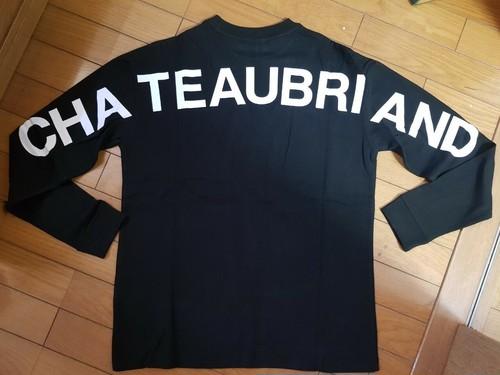【送料込】WAGYUMAFIAオリジナル CHATEAUBRIAND ロングTシャツ デザインB