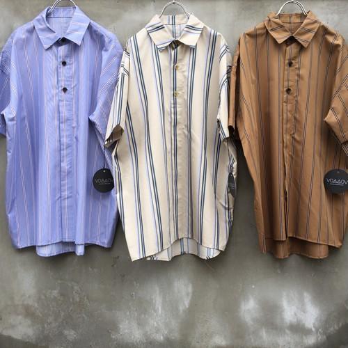 "voaaov  ""vosh-d09-92 s/s stripe shirts"""