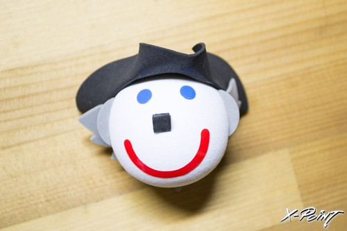 Jack in the box George Washington Antenna Topper