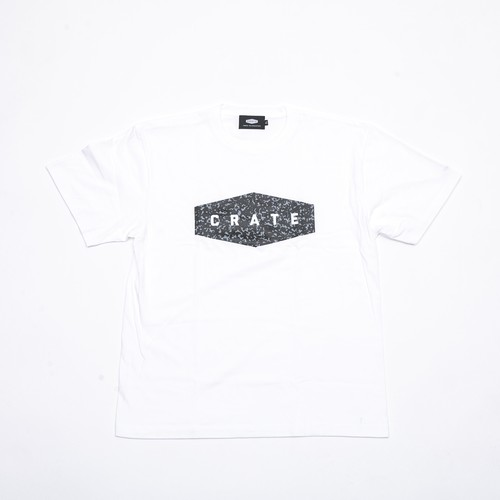 NOTE BOOK T-SHIRTS WHITE×GRAY