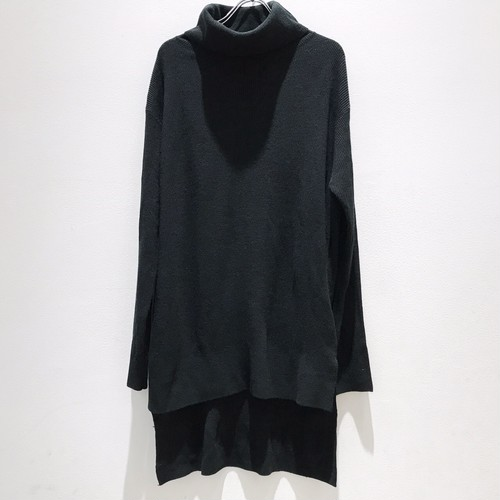 sold out  keisuke yoneda difference Turtle-neak knit black