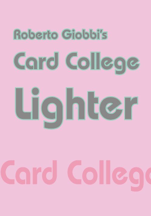 Roberto Giobbi『Card College Lighter』