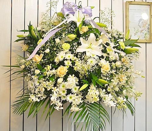 D0227) 告別式 スタンド花
