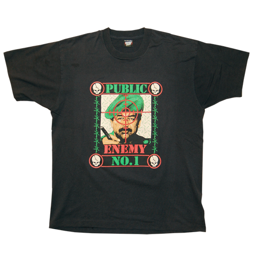 """Public Enemy No.1""  Vintage Tee"