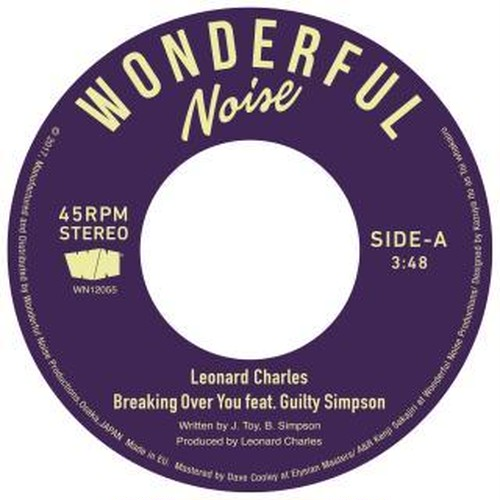 Leonard Charles『Breaking Over You 』
