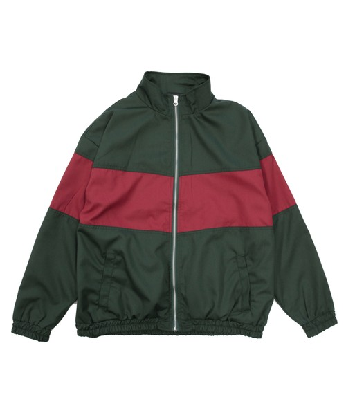 カラーブロックジャケット