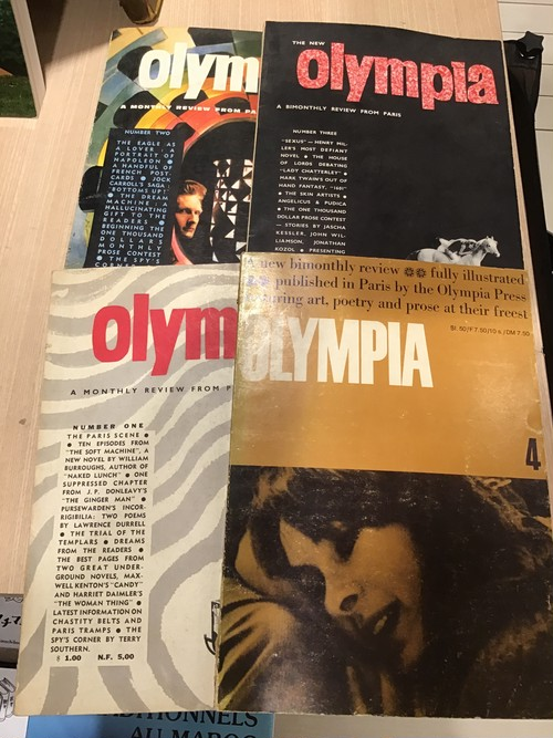 OLYMPIA  A Monthly review from Paris. No 1-4