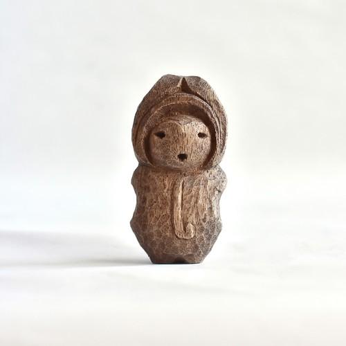 木彫り土偶(小・勝坂A)