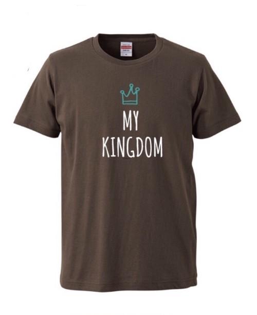 MY KINGDOM Tシャツ チャコール