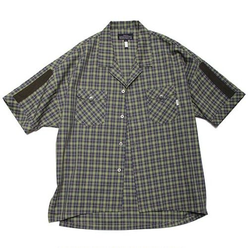 quolt / NEON SHIRTS / GREEN-GRAY / 901T-1180