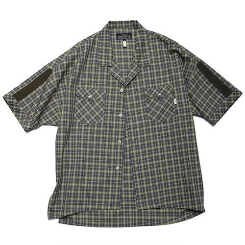 quolt NEON SHIRTS / クオルト シャツ / GREEN-GRAY / 901T-1180