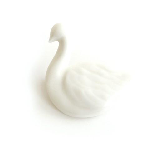 白鳥ブローチ (po-to-bo)